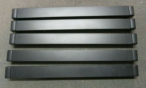 5 x HP 464695-001 Universal Rack Server Cabinet Black Blank Slot Filler Panel